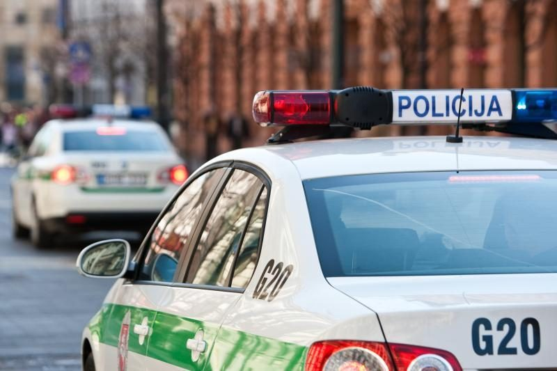 Per dvi savaites užfiksuota 1312 saugos diržų nenaudojimo atvejų