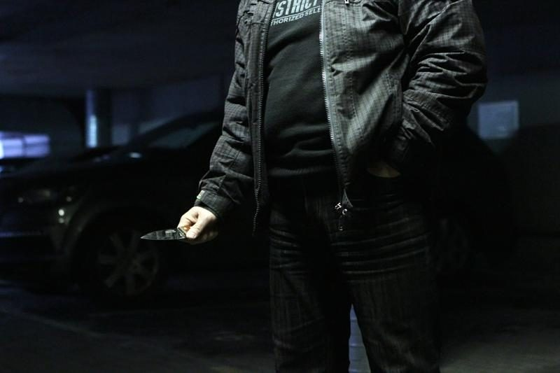 Laukininkų gatvėje kažkas peiliu subadė vyriškį