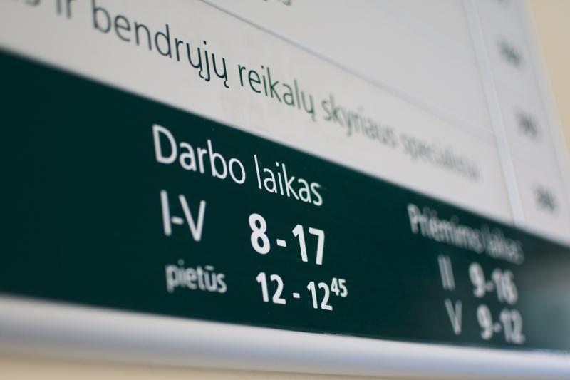 Lietuvoje darbo neturi 236,3 tūkst. žmonių