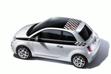 """Išskirtinė """"Fiat 500 F1"""