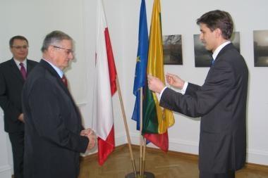 Lenkų profesoriui - Lietuvos diplomatų apdovanojimas