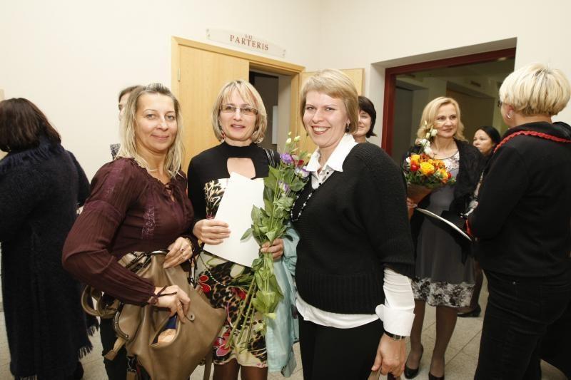 """Metų mokytojo titulas – """"Purienos"""" auklėtojai Dagnai Volkovaitei"""