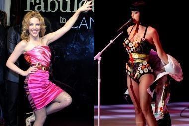 """Žurnalas """"Glamour"""" metų moterimis išrinko K.Perry ir K.Minogue"""