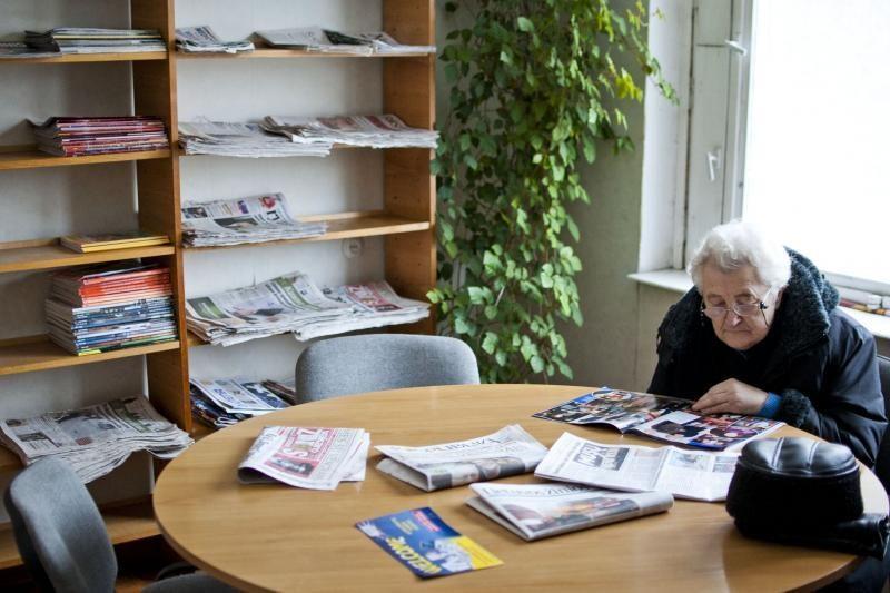 Ledynmetis: iš bibliotekos bėga net ištvermingiausi skaitytojai