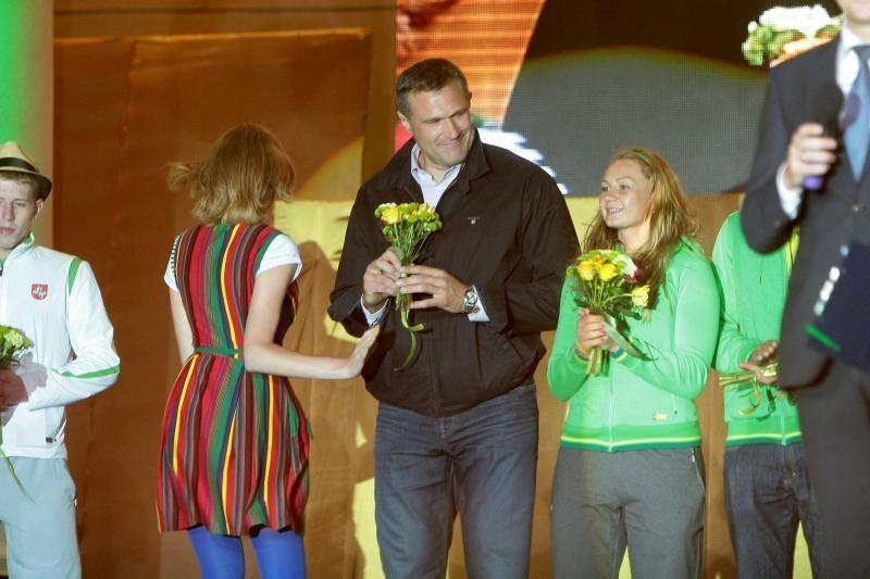 Olimpiečiai piktinasi, kad didžiausias dėmesys skiriamas krepšiniui