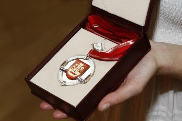 B.Aleknavičiui įteiktos Garbės piliečio regalijos