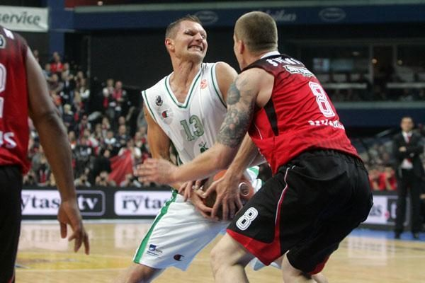 """Eurolyga: antrasis Vilniaus """"Lietuvos ryto"""" pralaimėjimas iš eilės"""