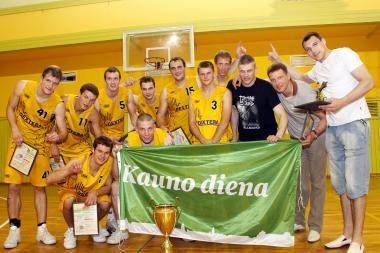 Kauno krepšinio mėgėjų lyga rengiasi naujam sezonui