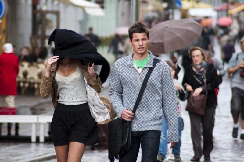 Savaitgalį Klaipėdoje atšals, bus lietinga