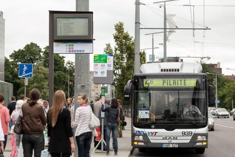Vilniečiai savo kailiu išbando viešojo transporto permainas