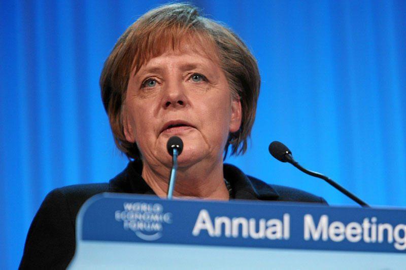 Davose A.Merkel pabrėžė Europos integracijos būtinybę