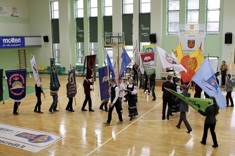Klaipėdoje pagerbtos sportiškiausios mokyklos
