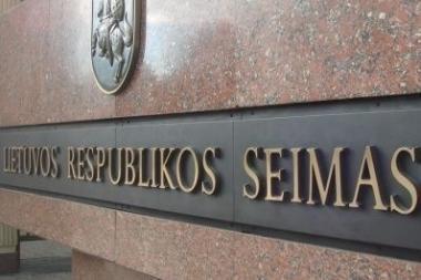 Seimas griežtins bausmes parlamentarams už posėdžių nelankymą