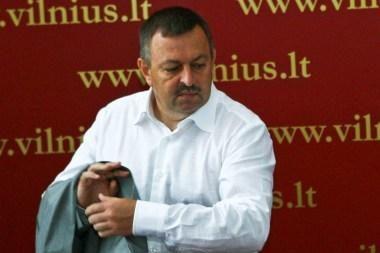 Sustabdyta Vilniaus mero V.Navicko narystė TS-LKD, Š.Skučas pašalintas iš partijos