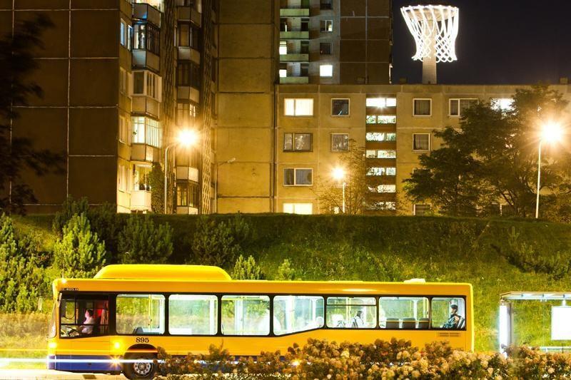 """Koreguojamas autobuso maršrutas """"Pašilaičiai - Tarandė"""""""