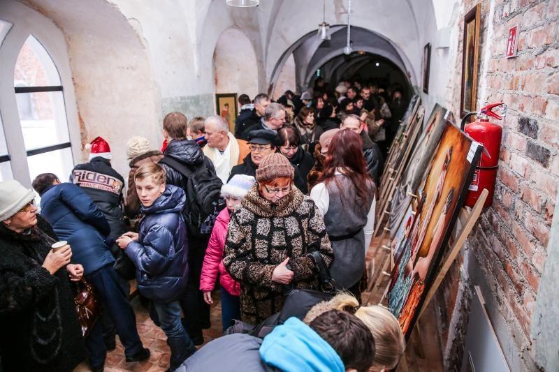 Šv. Jurgio Kankinio bažnyčioje – labdara kurtiesiems menininkams