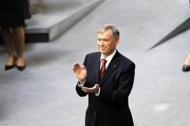 Vokietijoje H.Koehleris perrinktas federaliniu prezidentu
