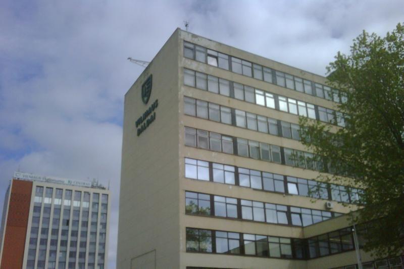 """""""Vilniaus balduose"""" užsidegė dulkės, įmonė nuostolių nepatyrė"""
