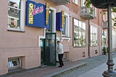 Klaipėdos senamiestyje apvogta juvelyrinių dirbinių parduotuvė