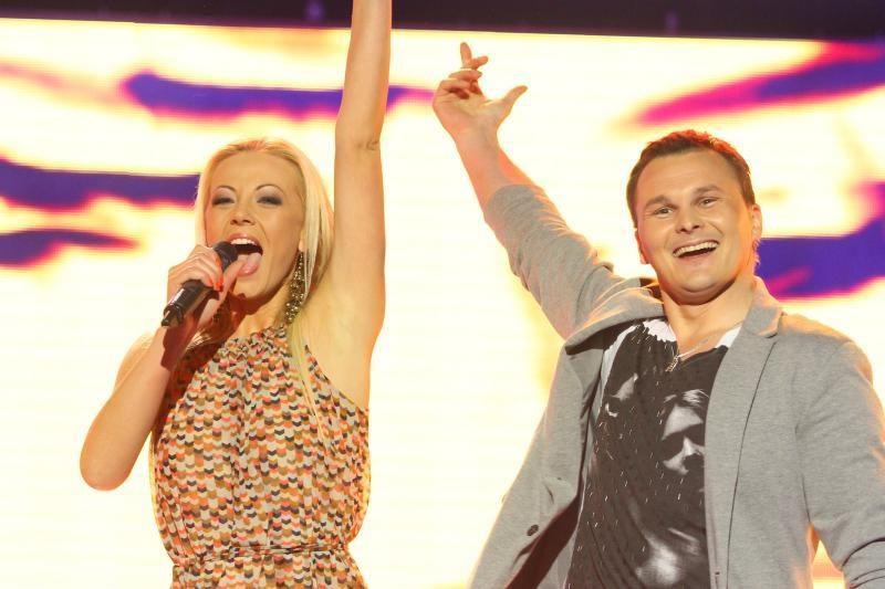 """I.Valinskienė ir A. Butkus nepateko į """"Žvaigždžių duetų"""" finalą"""