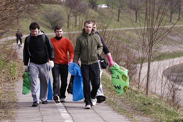 Balandis Vilniuje skelbiamas aplinkos tvarkymo mėnesiu