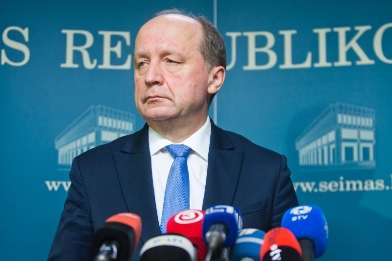 A.Kubilius paragino FNTT vadovo paskyrimą atidėti dviem savaitėms