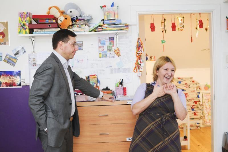 Ministras: savivaldybė turėtų pasirūpinti darželiais