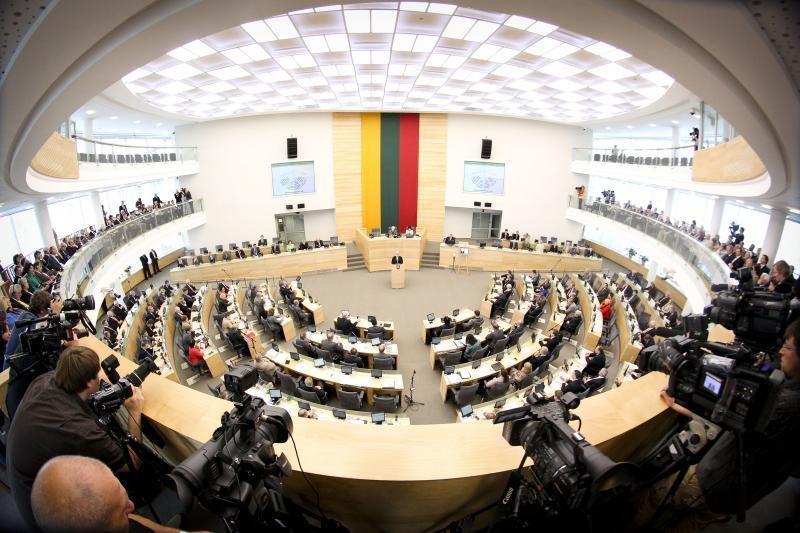 Seimas pradeda paskutinę   savo sesiją