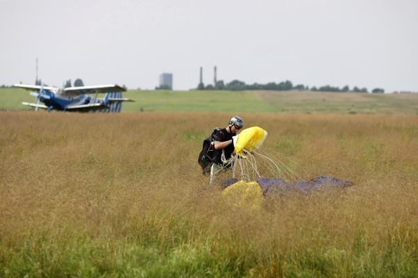 Klaipėdos aerodrome: aviamodelių šou