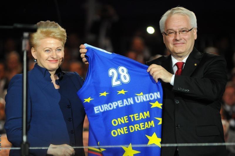 Kroatija švenčia įstojimą į Europos Sąjungą (papildyta)
