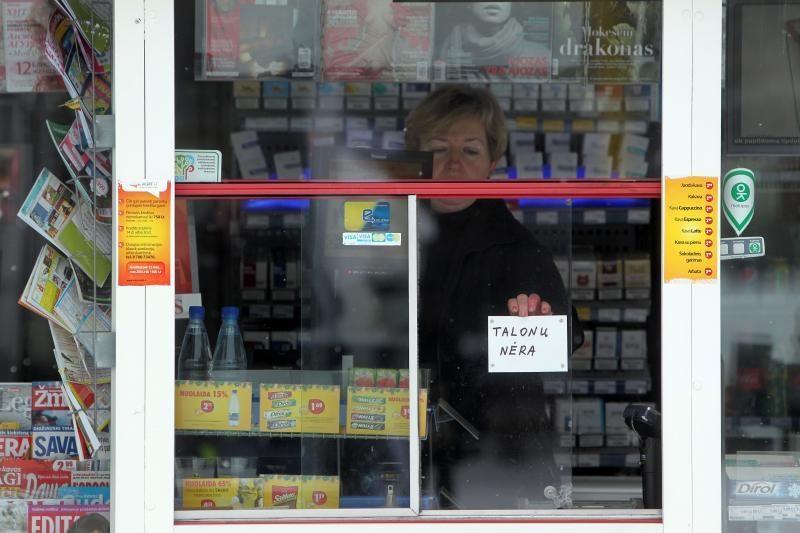 """""""Lietuvos spaudos"""" kioskuose – transporto bilietų trūkumas"""