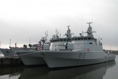 """Naujo patrulinio laivo vardas – """"Dzūkas"""""""