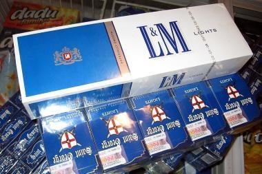 Muitininkai sulaikė kontrabandinių rūkalų už 23 tūkst. litų