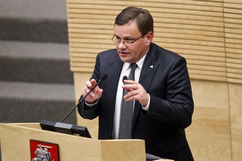 Seimo pirmininkas: mes neturime jokių galimybių atleisti prokuroro