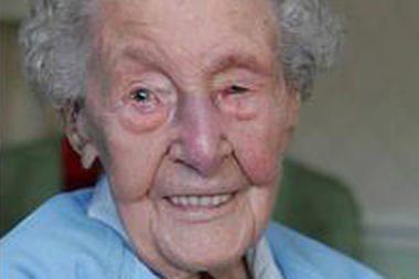Mirė seniausia Britanijoje gyventoja