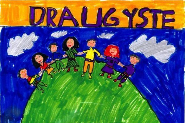 Mokiniai vis aktyviau piešia gražiausius lietuviškus žodžius