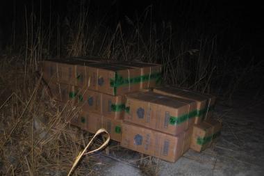 Lietuvos pasieniečiai padėjo Rusijoje sulaikyti kontrabandą