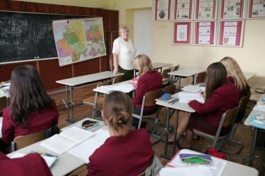 Uostamiesčio mokytojai baiminasi algų mažėjimo