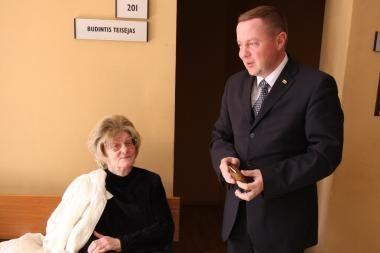 Seimo narys E.Jurkevičius aiškinosi teismui
