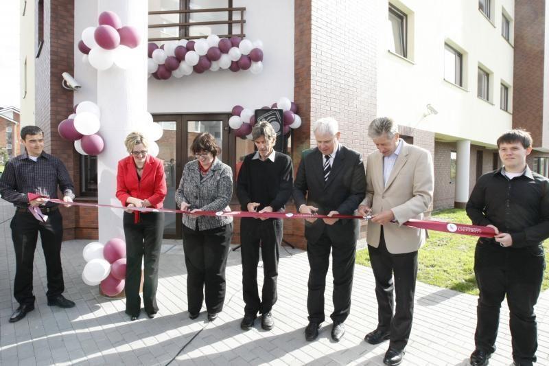 Klaipėdoje atidarytas modernus studentų bendrabutis