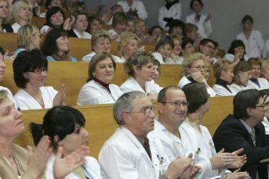 Darbą pradėjo naujasis 2-osios klinikinės ligoninės direktorius