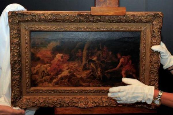 Graikija pristatė prieš 10 m. iš Belgijos muziejaus pavogtą paveikslą