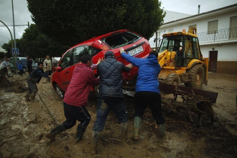 Ispanijos pietuose per potvynius žuvo šeši žmonės