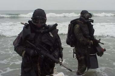 Karinių jūrų pajėgų narai-išminuotojai tobulinsis Norvegijoje