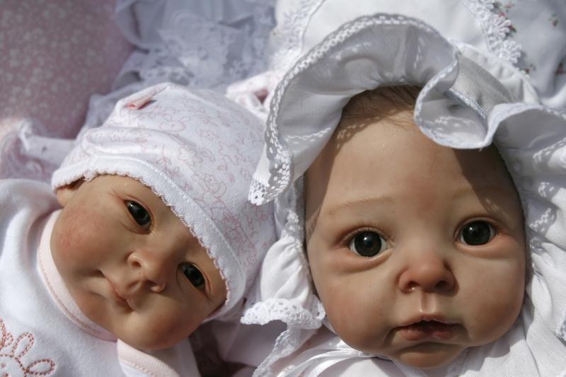 Originalios lėlės atrodo lyg gyvi kūdikiai