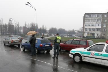 Uostamiestyje per avariją nukentėjo moteris