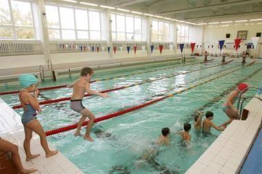 Plaukimo pamokos kirs per kišenę