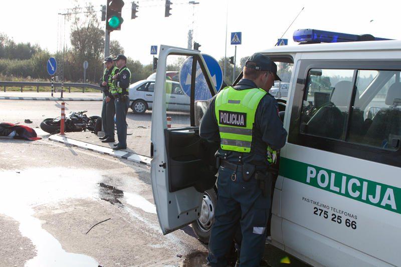 Per avariją šalia Vilniaus žuvo motociklininkas (papildyta)