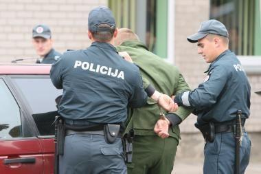 Policininkai tramdė girtą vairuotoją
