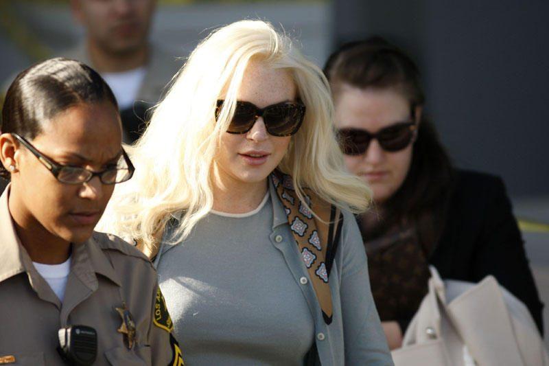 Lindsay Lohan išsikraustė iš savo namų Kalifornijoje